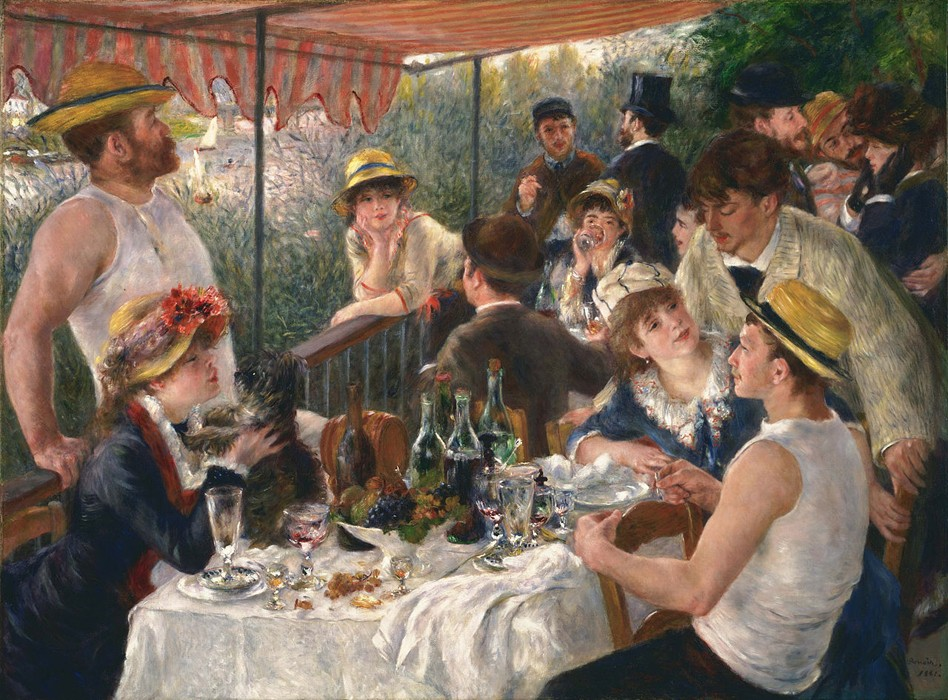 « Le déjeuner des canotiers », 1880-1881, Pierre-Auguste Renoir, The Phillips Collection, Washington D.C.