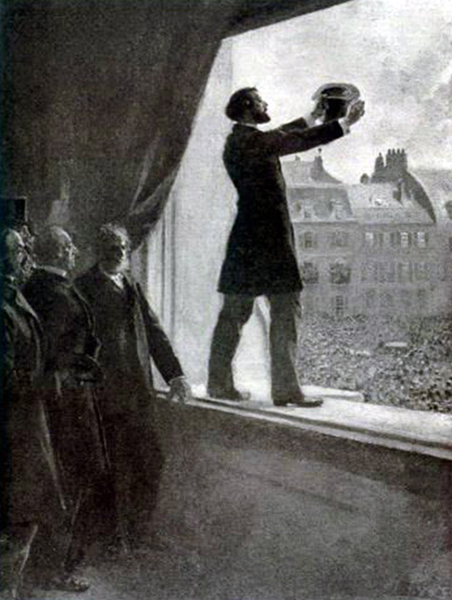 Proclamation de la IIIe République (4 septembre 1870)