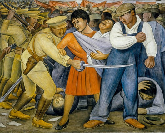 Diego Rivera, fresque murale, Museum of Modern Art, New York, 1931 (DR)