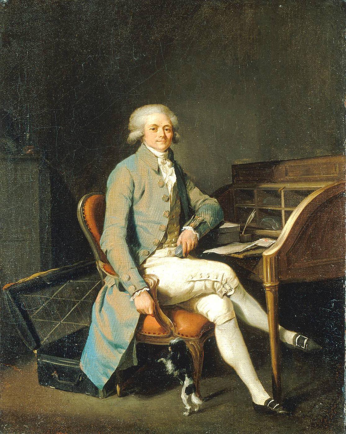 Maximilien de Robespierre, Arras, 1783 (Louis Léopold Boilly, palais des beaux-arts de Lille)