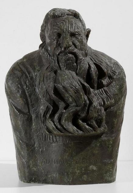 « Buste de Rodin », 1909, Antoine Bourdelle, musée Ingres, Montauban.
