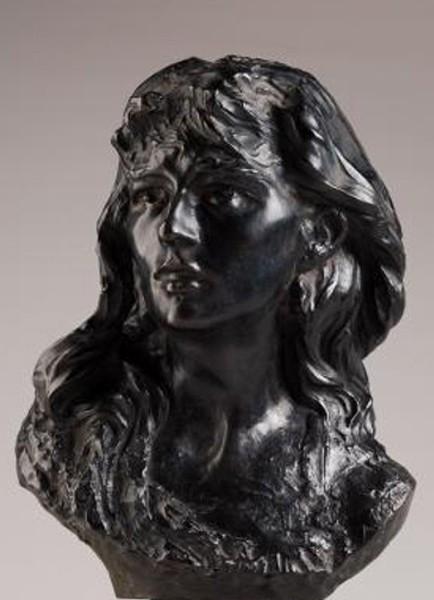 « Mignon » (Portrait de Rose), 1870, Auguste Rodin, musée Rodin, Paris.