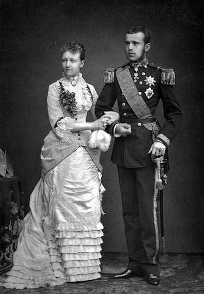 Mariage de Stéphanie de Belgique et Rodolphe d'Autriche (10 mai 1881)