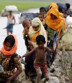 """29 novembre 2017 : Parler de """"génocide"""", même si on n'en a pas la preuve absolue, peut aider à protéger les Rohingya"""