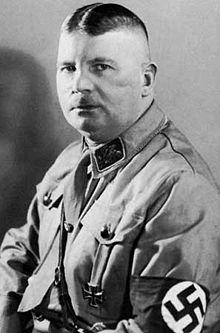 Ernst Röhm (28 novembre 1887, Munich - 2 juillet 1934, prison de Stadelheim, Munich)
