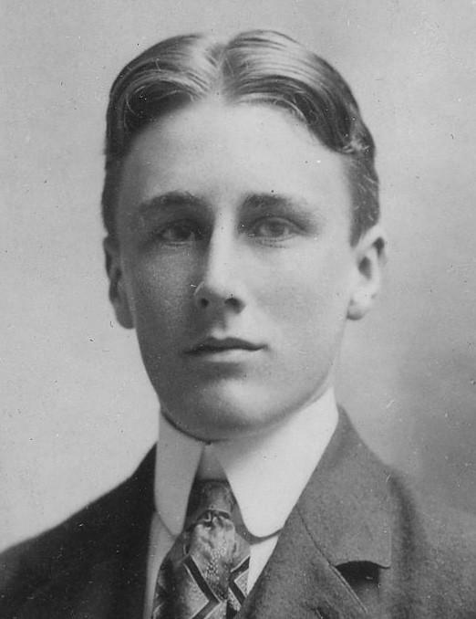 Franklin Delano Roosevelt à 18 ans (1900)
