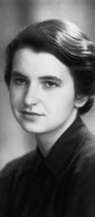 Rosalind Franklin (25 juillet 1920, Notting Hill, GB ; 16 avril 1958, Chelsea, GB)