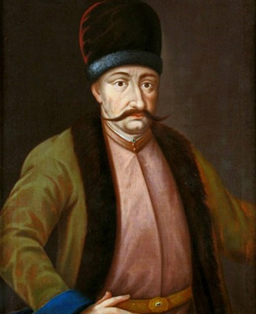 Bogdan Khmelnytsky, vers 1650, musée du district de Tarnów, Pologne.