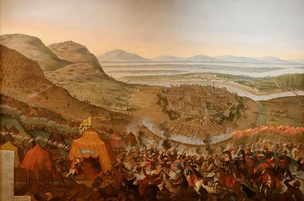 Bataille de Vienne, Franz Geffels, 1683, Karlsplatz Museum, Vienne.