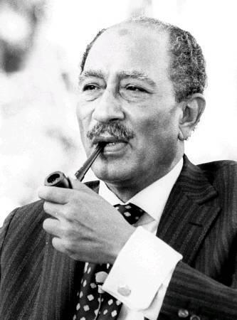 Anouar el-Sadate (25 décembre 1918 - 6 octobre 1981)