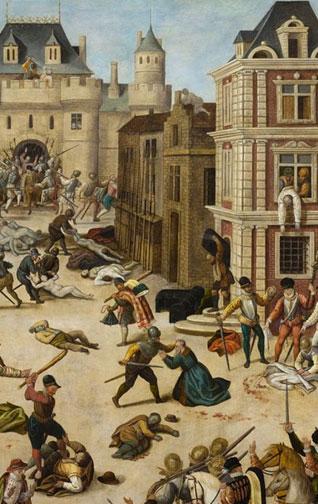 Le massacre de la Saint-Barthélemy (François Dubois, musée cantonal des Beaux-Arts de Lausanne)