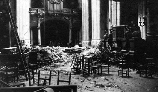Effondrement de la voûte de l'église Saint-Gervais (Paris), le 29 mars 1918