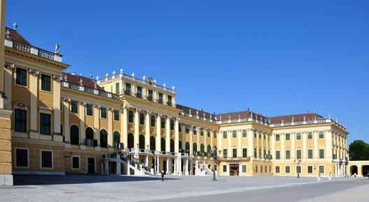 Le palais de Schonbrunn, près de Vienne
