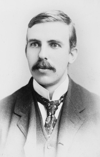 Ernest rutherford, 1908, Library of Congress, Washington.