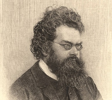 Ludwig Boltzmann, vers 1900, The Dibner Library of the History of Science and Technology, Washington.