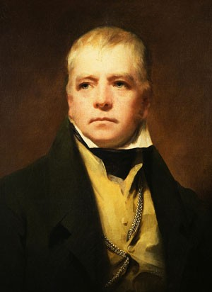 Sir Walter Scott, 1st Baronet of Abbotsford (August 15, 1771, Edinburgh - September 21, 1832, Abbotsford) by Henry Raeburn, 1822