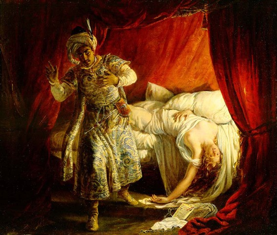 Alexandre Colin, La Mort de Desdémone, 1829, coll. part.