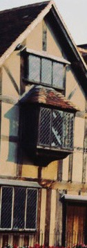 Vue de la maison de Shakespeare à Stratford-upon-Avon - Photo Gérard Grégor.