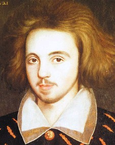 Anonyme, Portrait présumé de Christopher Marlowe, 1585, Cambridge, Corpus Christi College.