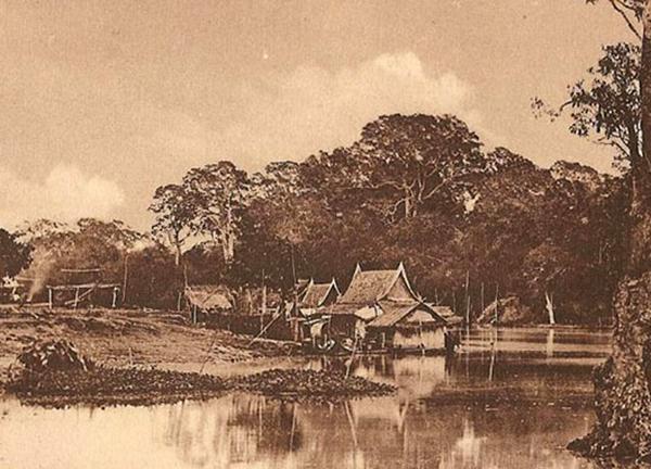 Village siamois au début du XXe siècle