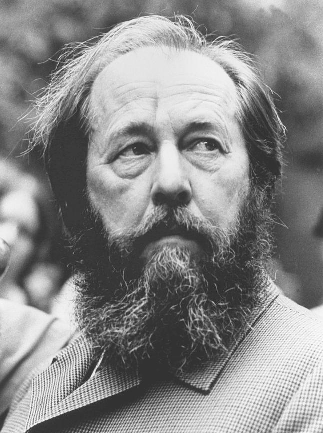 Les Chroniques du Jour : ça s'est passé un.....3 Août Soljenitsyne