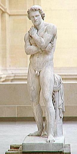 Spartacus se libérant de ses chaînes, par Denis Foyatier (fin du XIXe siècle), Louvre, Paris (DR)