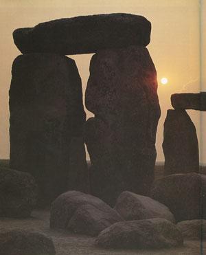 Temple mégalithique de Stonehenge, près de Salisbury (Angleterre), IIIe-IIe millénaire av. J.-C. (DR)