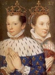 Francois II et Marie Stuart (Livre d'Heures de Catherine de Médicis)