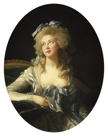 Madame Grand alias Catherine Noele Worlée, amante puis épouse de Talleyrand (1802), Elisabeth Vigée-Lebrun, 1783, Metropolitan Museum of Art, New York.