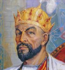 Anonyme, Portrait de Tamerlan, mausolée Gour Émir.