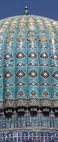 Samarcande, coupole de la mosquée Bibi-Khanum.