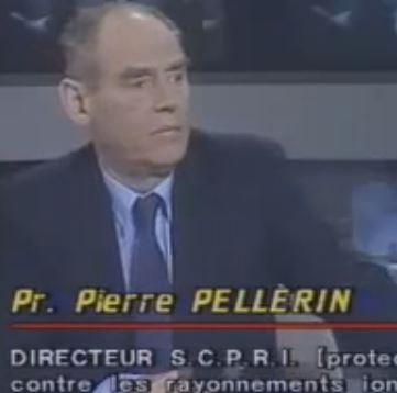 Pierre Pellerin à la télévision (DR)
