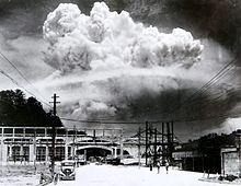 Champignon atomique de Nagasaki (9 août 1945)