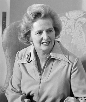 Margaret Thatcher en septembre 1975 (13 octobre 1925, Grantham ; 8 avril 2013, Londres), DR
