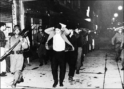 Répression de Tlatelolco (Mexico, 2 octobre 1968)