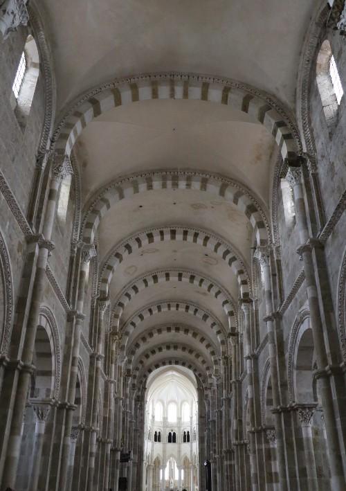 La basilique de Vézelay, sainte Marie-Madeleine (Yonne), photo : Gérard Grégor pour Herodote.net