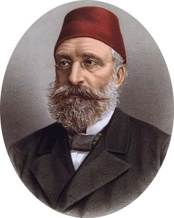 Midhat Pasha, 1893, British Library.