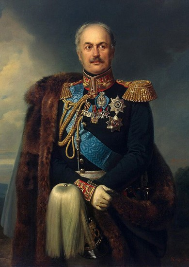 Comte Paul Kisseleff, Franz Krüger, 1851, Saint-Petersbourg.
