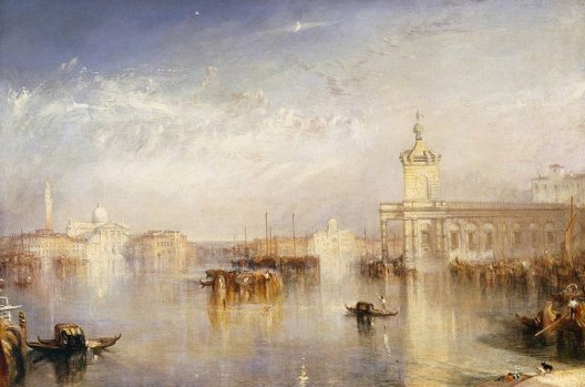William Turner, Venise. La Douane, San Giorgio, 1842, Londres, Tate Gallery