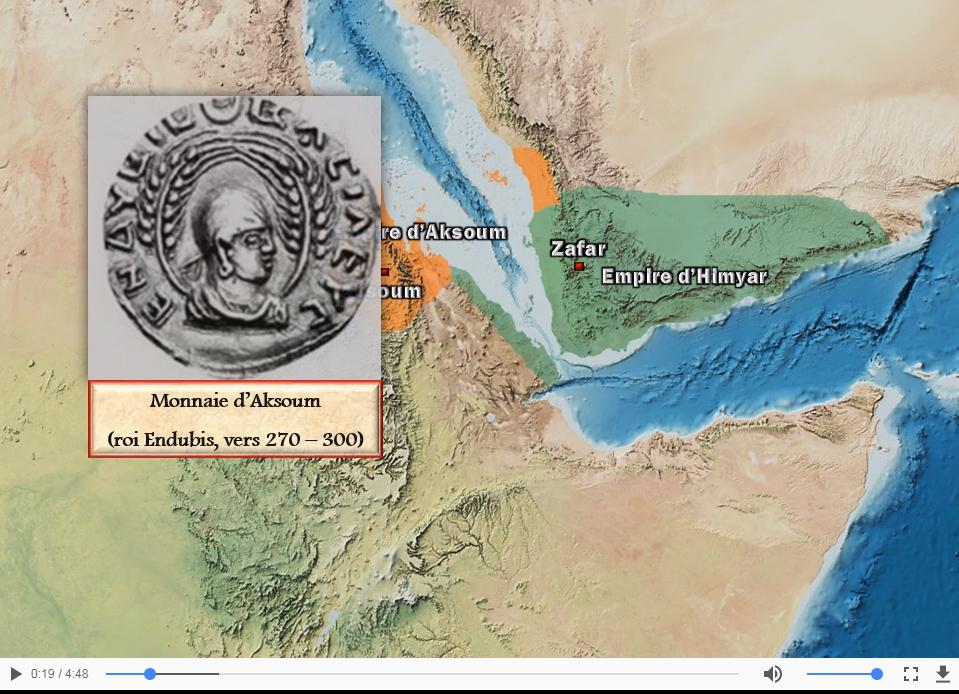 Le royaume d'Aksoum (300-640)
