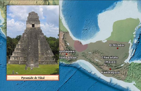 Le renouveau de la Mésoamérique (droits réservés : Vincent Boqueho, pour Herodote.net)