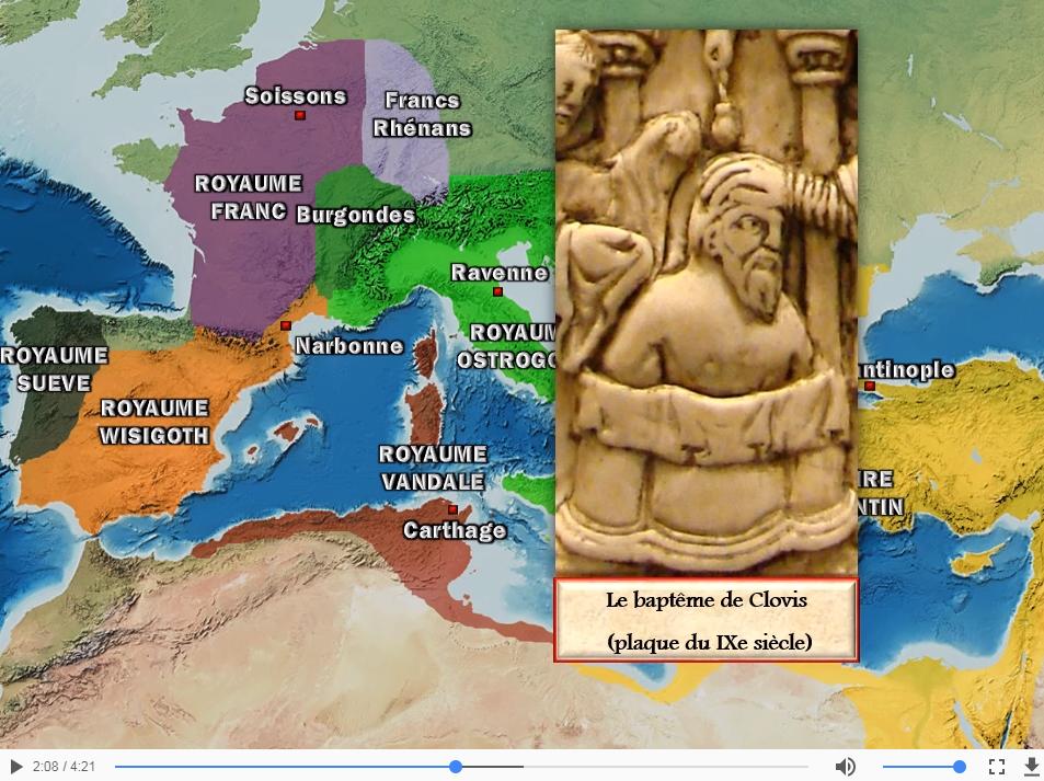 Les premiers royaumes germaniques (476-561)