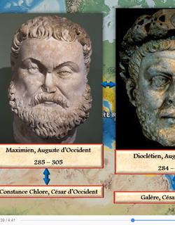 L'Antiquité classique racontée par Vincent Boqueho : chevauchées barbares (IIe-Ve siècles)