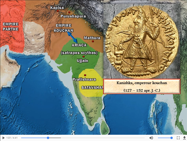 Inde – l'empire Gupta (70 – 530)