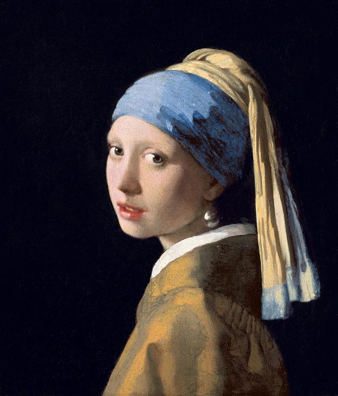 « La Jeune Fille au turban », Johannes Vermeer, v. 1665, Mauritshuis Museum, La Haye.