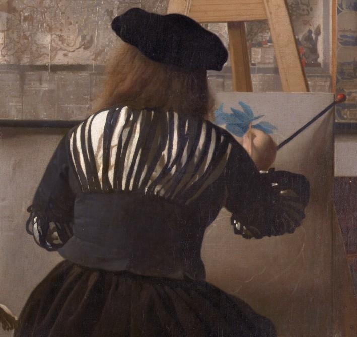 « L'Art de la Peinture », Johannes Vermeer, v. 1666, Kunsthistorisches Museum, Vienne.