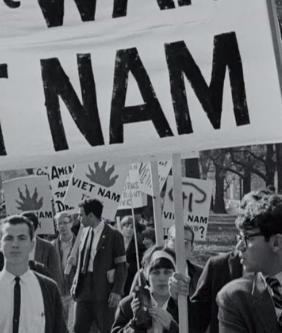 Manifestation contre la guerre du Vietnam