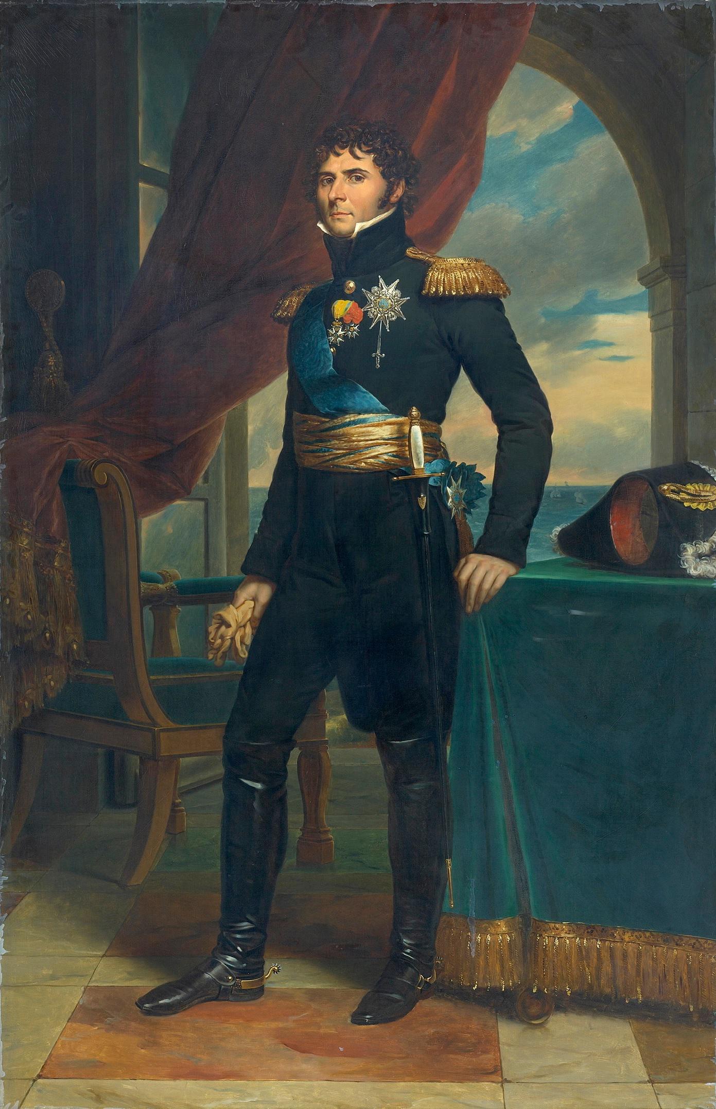 Le maréchal Jean-Baptiste Bernadotte en prince héritier de Suède (1811, François Gérard)