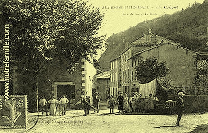 Drôme, Crépol (récit de  Andrée Morel)