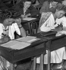 Bachelières en 1944